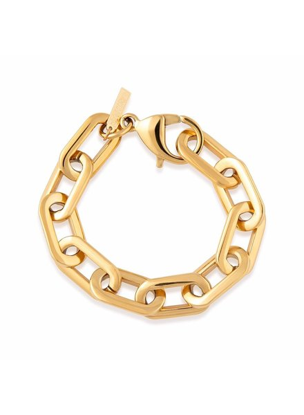 Sahira Sahira Jenna Link Bracelet Gold