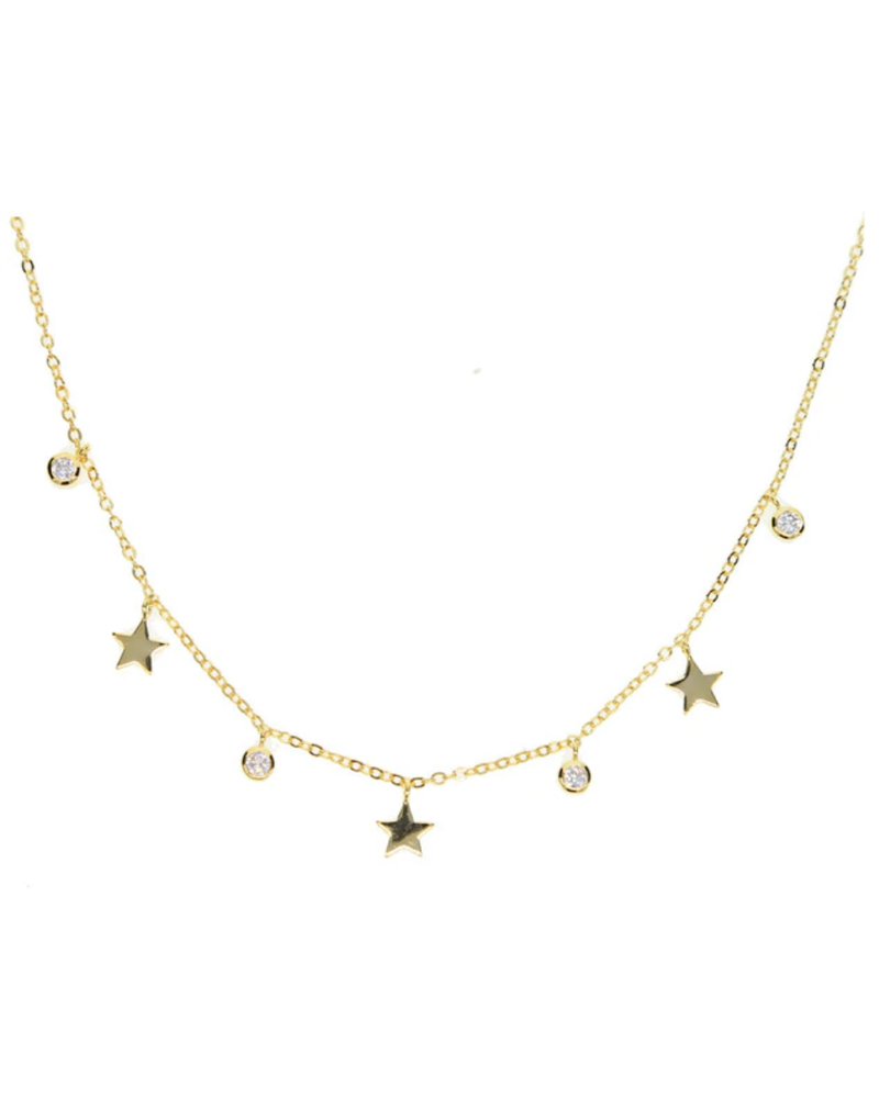 Sahira Sahira Jessie Star Choker Necklace
