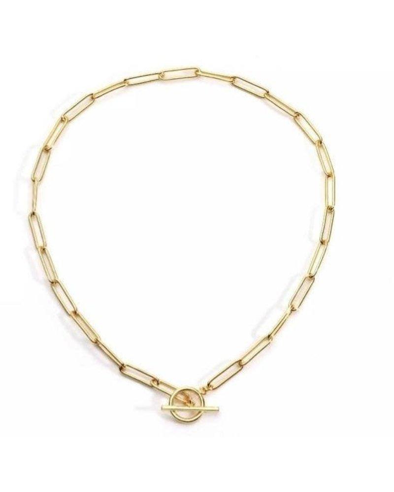 Sahira Sahira Bella Toggle Necklace