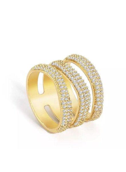 Sahira Sahira Elle Pave Ring