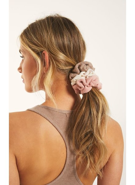 Z Supply Z LOUNGE Scrunchie Set of 3