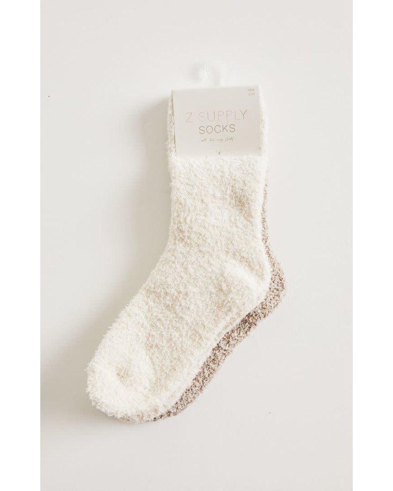 Z Supply Z LOUNGE Plush Socks