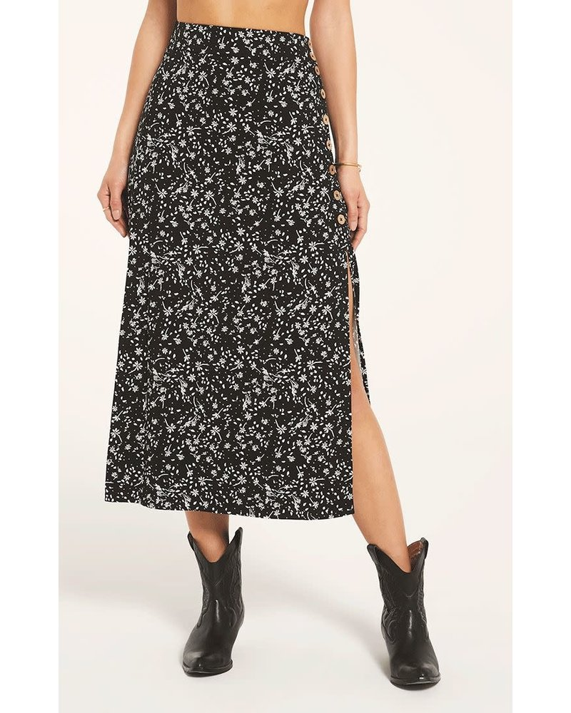 White Crow White Crow Corona Skirt Black