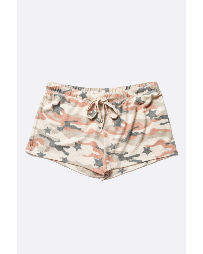 PJ Salvage PJ Salvage Camo Star Shorts