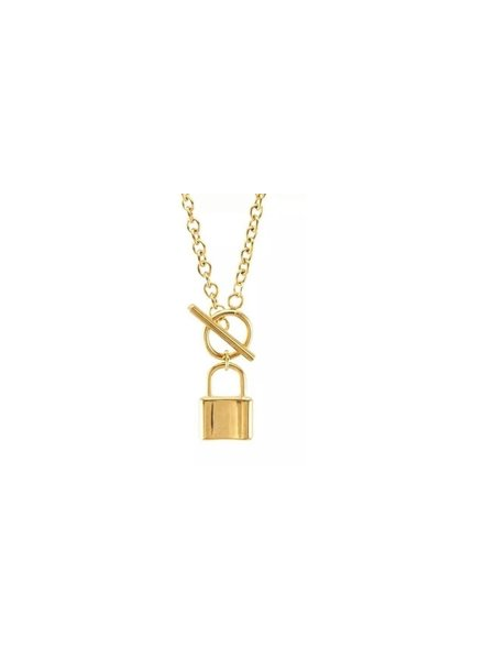 Sahira Sahira Jane Toggle Lock Necklace