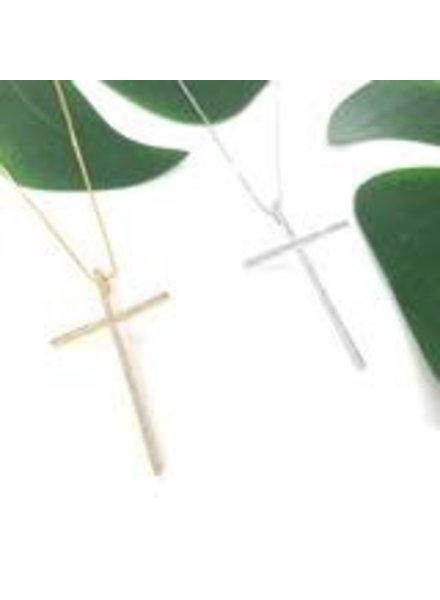 Sahira Sahira Incanto Maxi Cross Necklace