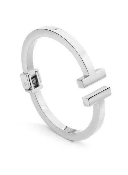 Sahira Sahira Sadie T Cuff Bracelet Gold