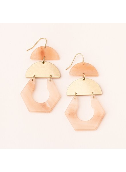 Scout SCOUT Cut Out Earring Sunstone