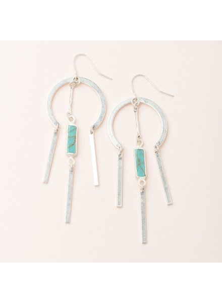 Scout SCOUT Dream Catcher Stone Earring