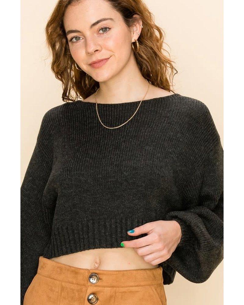 HYFVE HYFVE Charcoal Sweater