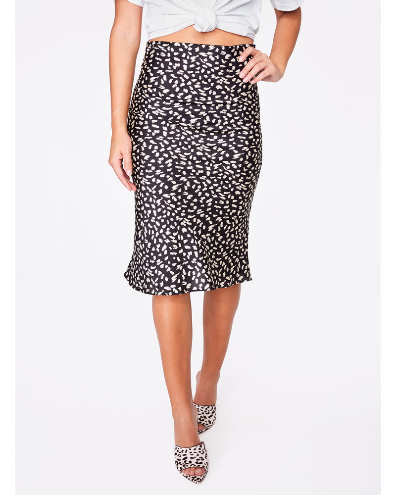 Hey You Hey YOU Printed Slip Skirt