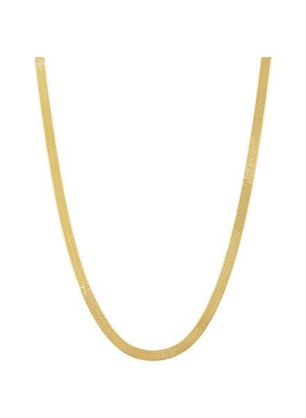 Sahira Sahira Snake Chain Necklace
