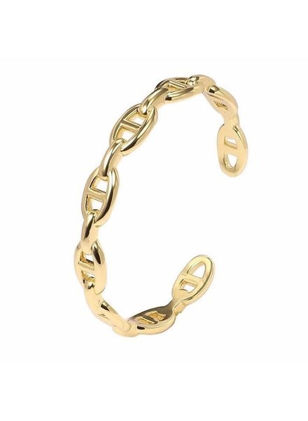 Sahira Sahira Rosie Link Cuff Bracelet