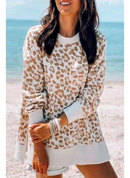 Mazik Mazik Leopard Raglan Sweatshirt