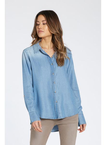 Dear John Dear John Opal Denim Button Up Shirt