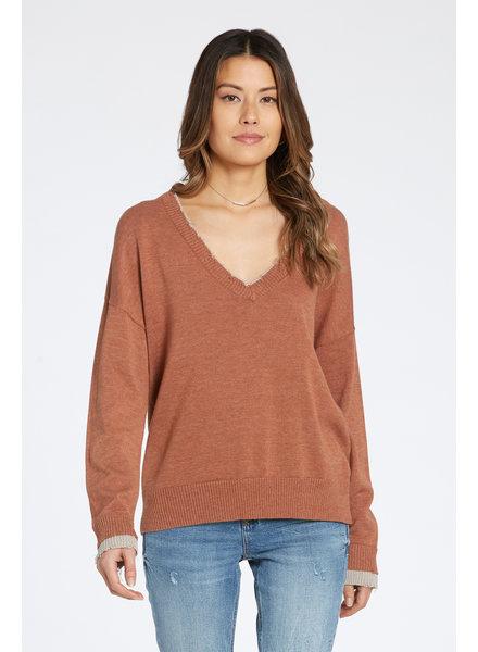 Dear John Dear John Nadia Distressed Sweater