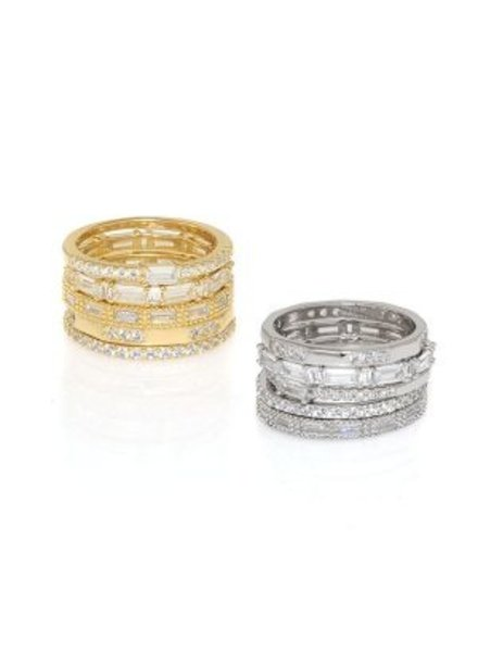 Anuja Diva Stackable Ring Set