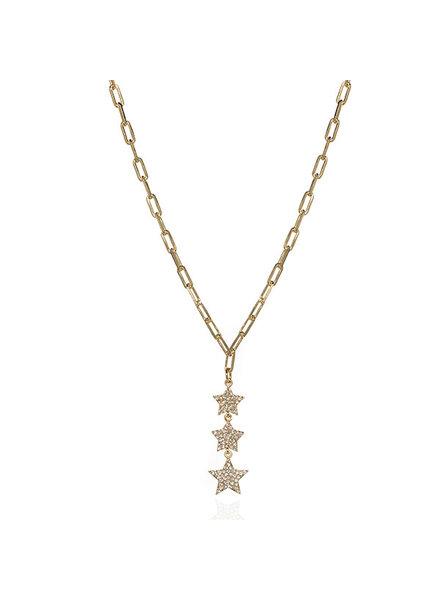 Anuja Anuja Star Island Necklace