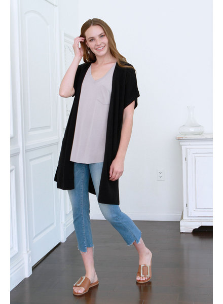 Another Love Another Love Knit Cardigan Black