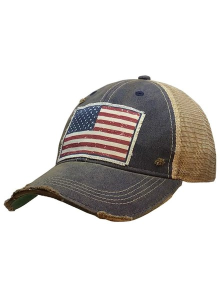 Vintage Life Vintage Life USA Navy Hat