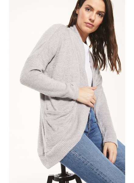 Z Supply Z Supply Kaye Feather Cardigan Grey