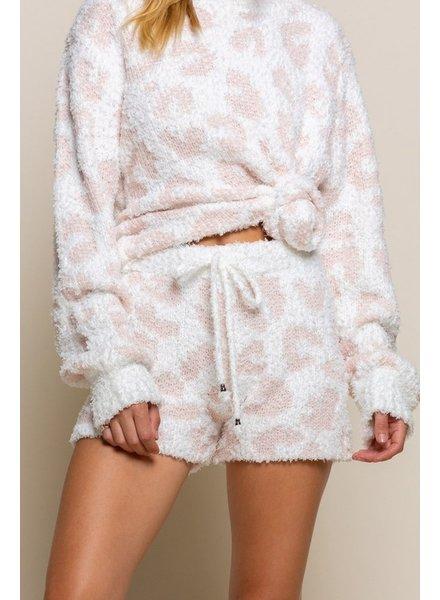POL POL Fuzzy Shorts