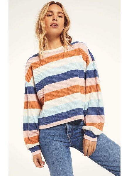 Z Supply Z Supply Striped Thermal Top