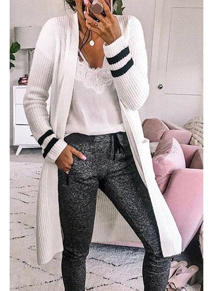 Mazik Mazik Varsity Sweater Cardigan