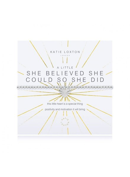 Katie Loxton Katie Little She Believed Bracelet
