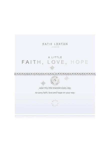 Katie Loxton Katie Little Faith Hope Love Bracelet