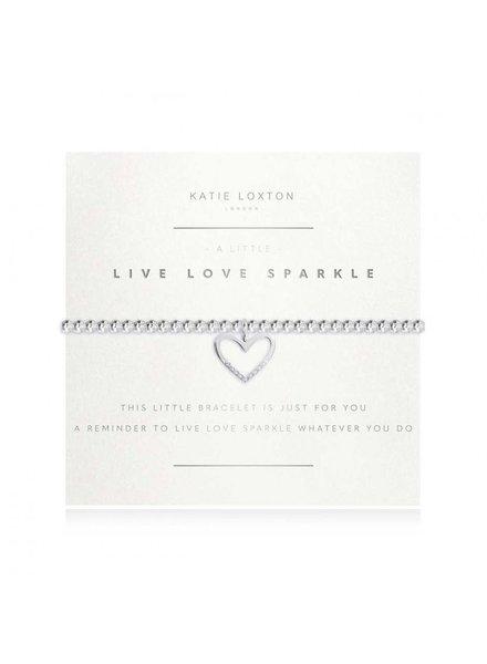 Katie Loxton Katie Little Live Love Bracelet