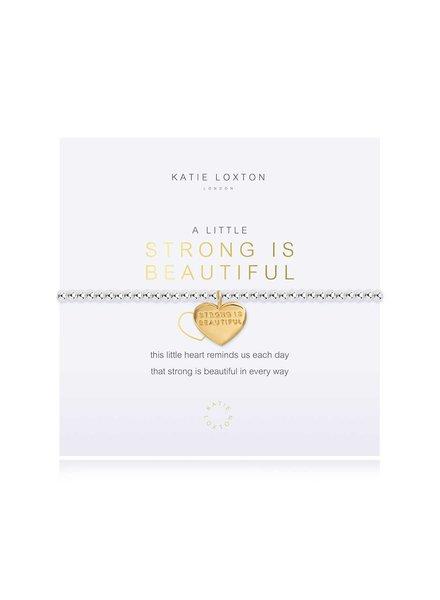 Katie Loxton Katie Little Strong is Beautiful Bracelet