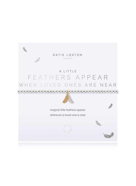 Katie Loxton Katie Little Feathers Appear Bracelet