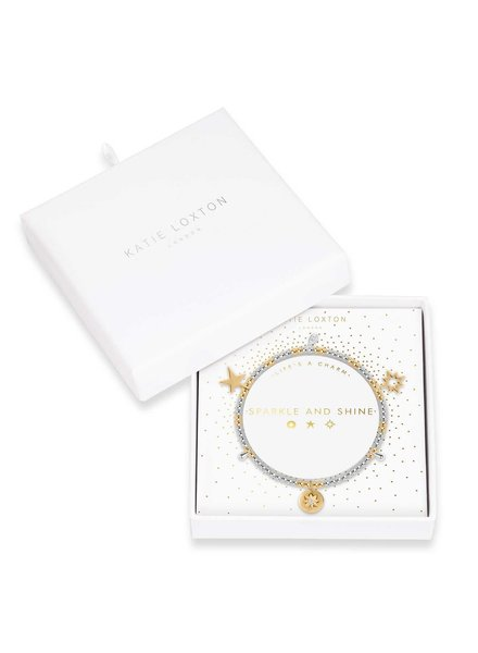 Katie Loxton Katie Charm Bracelet Sparkle & Shine