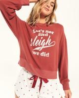 Z Supply Z Supply Elle SLEIGH Rosy Sweatshirt