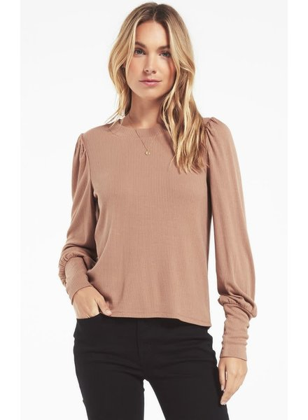 Z Supply Z Supply Clemente Puff Sleeve Top