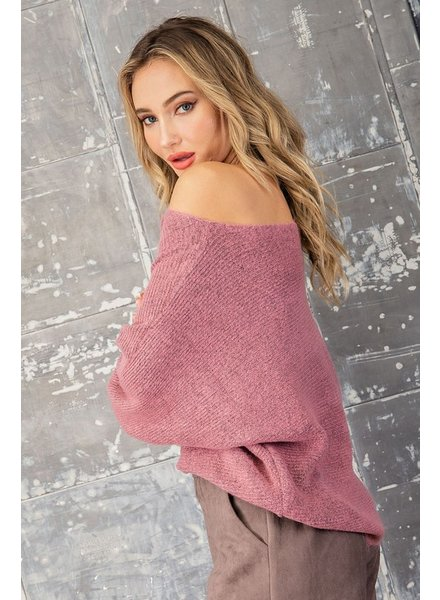 EEsome Eesome Pink Sweater Ribbed