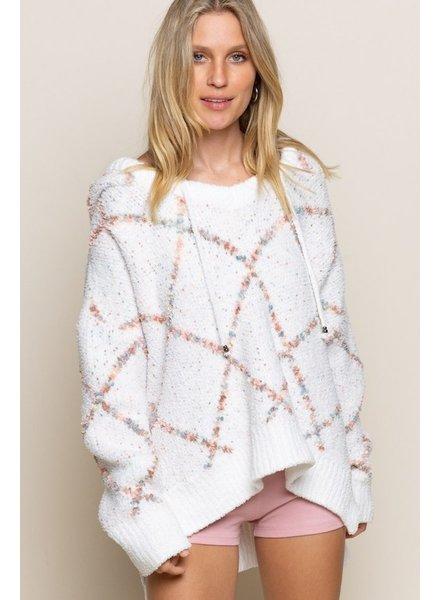 POL POL Fuzzy Multi Sweater
