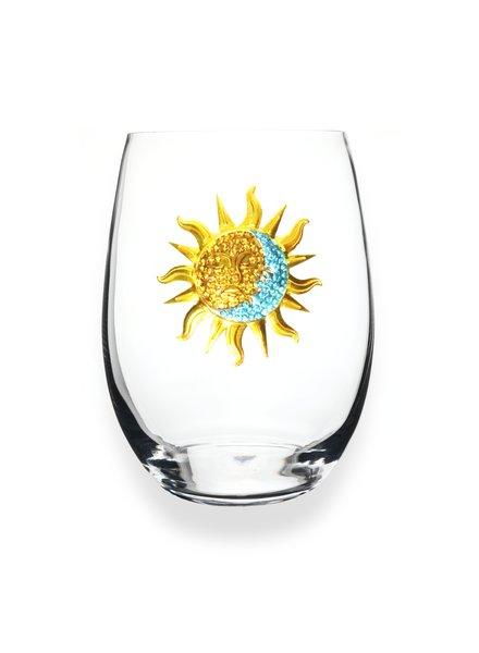 Cork Pops Cork Pops Stemless Glass Sun/Moon