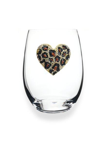 Cork Pops Cork Pops Stemless Glass Leo Heart