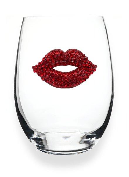 Cork Pops Cork Pops Stemless Glass Hot Lips