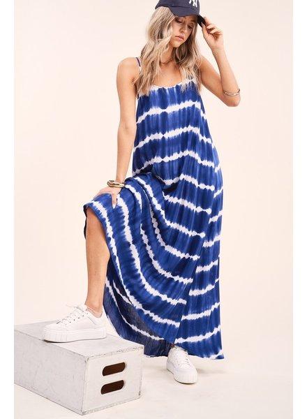 La Miel La Miel Tie Dye Maxi Dress