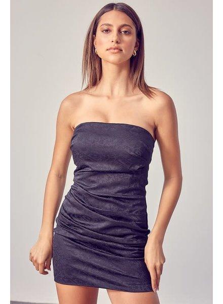 DO + BE Do + Be Strapless Black Dress