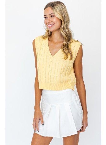 Le Lis Le Lis Butter Sweater Top