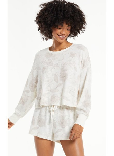 Z Supply Z  Supply Lina Floral Long Sleeve Top