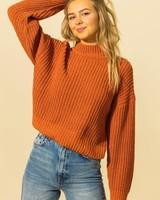 HYFVE HYFVE Mock Neck Soft Sweater