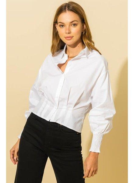 HYFVE HYFVE White Button Up Shirt