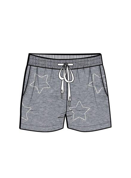 PJ Salvage PJ Salvage Star Short Grey