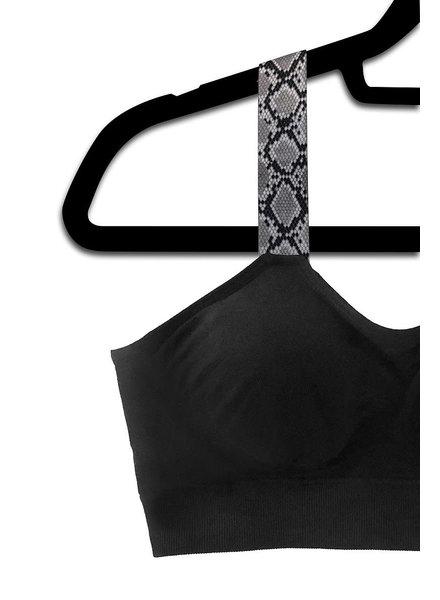 Strap Its STRAP IT Black  Bra Attached  Straps