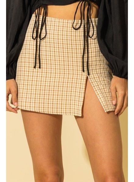 HYFVE HYFVE Plaid Skirt